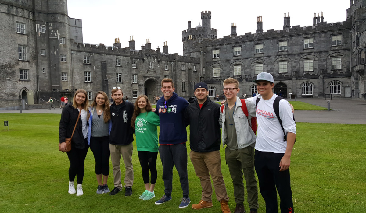 Drama students in Ireland